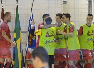 Grêmio Mogiano X AABB Copa Paulista futsal (Foto: Bruno Rocha)