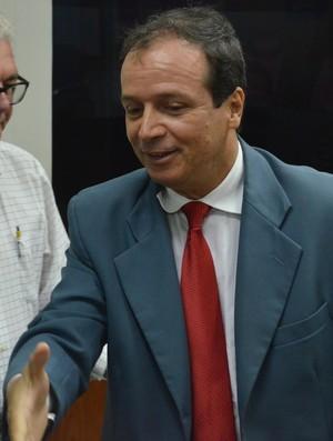 watteau rodrigues, presidente do auto esporte (Foto: Edgley Lemos / GloboEsporte.com/pb)