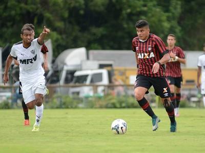 Atlético-PR Atlético-MG Copa do Brasil Sub-20 Bruno Nascimento (Foto: Marco Oliveira/ Site oficial Atlético-PR)