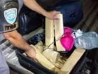 Estudante de 18 anos é presa em flagrante com 17 tabletes de maconha