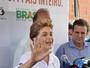"""Em visita ao Rio, Dilma diz: """"Zika não compromete a realização dos Jogos"""""""