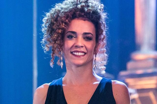 Laila Garin (Foto: Globo/Paulo Belote)