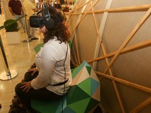 'Conexão Estação Natureza' tem vários recursos tecnológicos (Foto: Mila Maluhy / Divulgação)