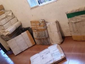 700 Kg de maconha foram apreendidas (Foto: PM JF/Divulgação)