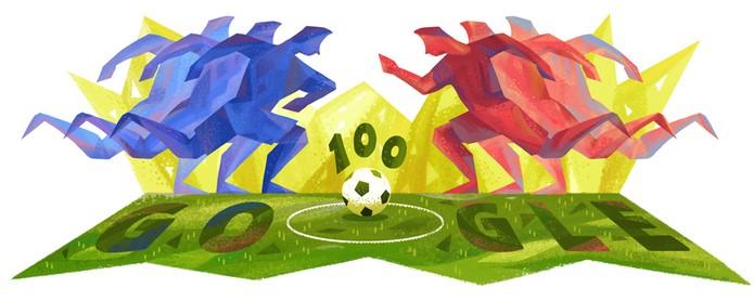Copa América (Foto: Doodle)