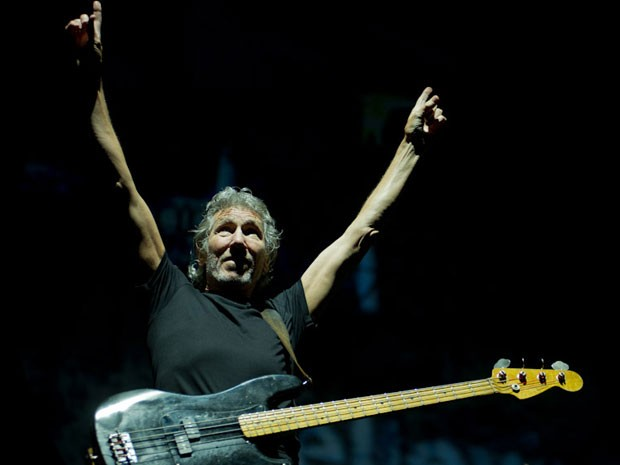 Ex-líder do Pink Floyd abre o show em São Paulo (Foto: Flavio Morais/G1)