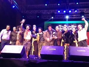 Manhã de Rodeio foi a música vencedora (Foto: Mariana Faria/G1)
