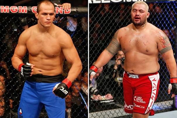 Junior Cigano e Mark Hunt farão o co-evento principal do UFC 160, dia 25 de maio (Foto: Getty Images)