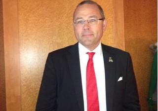 CEO da Saab, Hakan Buskne, diz que o preço do Gripen encareceu devido aos pedidos da FAB (Foto: Tahiane Stochero/G1)