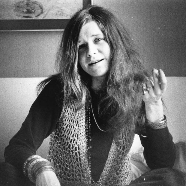 Janis Joplin em 1969 (Foto: Getty Images)