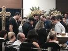 Corpo do cantor José Rico é velado na Câmara de Americana, SP