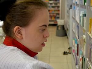 Giovanna Mammana, de 19 anos, de Campinas tem síndrome de Down (Foto: Priscilla Geremias/G1)