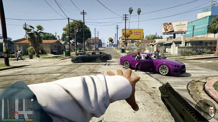 Veja como configurar a visão em Primeira Pessoa de GTA 5 para melhor atender seu estilo (Foto: DailyTech)