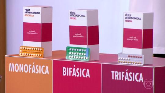 Pílulas de hoje em dia têm baixa dosagem de hormônio e são seguras