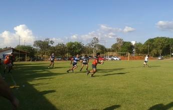 Maori joga rúgbi com time de Palmas e imitam All Blacks dançando o Haka