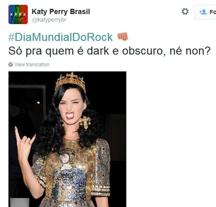 Dia Mundial do Rock - Katy Perry