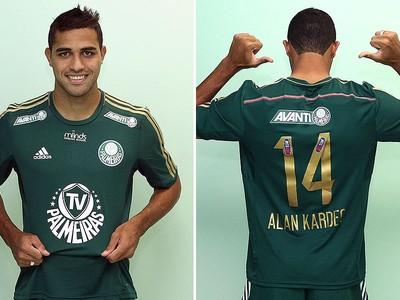 Palmeiras usa camisa nova com logo de TV própria nesta quinta-feira ... 1def6db058734