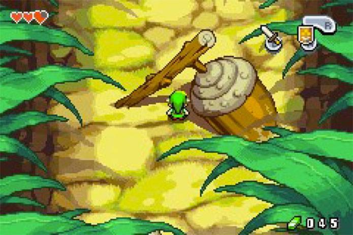 Zelda: The Minish Cap no GBA (Foto: Divulgação/Nintendo)