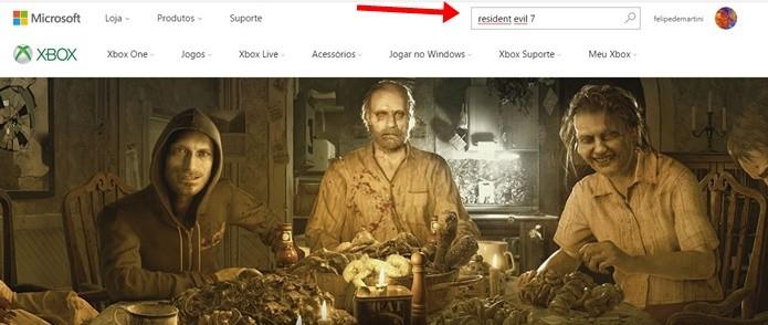 Resident Evil 7 também está disponível para Xbox One (Foto: Reprodução/Felipe Demartini)