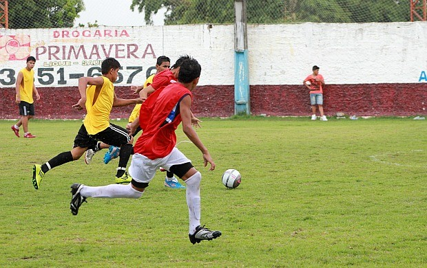Peneira Fluminense, em Manaus (Foto: Anderson Silva/Globoesporte.com)