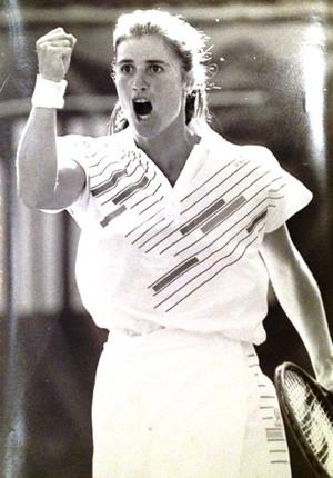 ex-tenista Niege Dias (Foto: Arquivo pessoal)