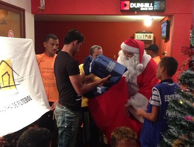 Wallyson participa do 'Natal do Bem', na capital potiguar (Foto: Reprodução / Instagram)