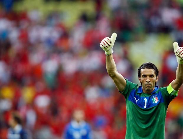 buffon itália espanha eurocopa (Foto: Agência Reuters)