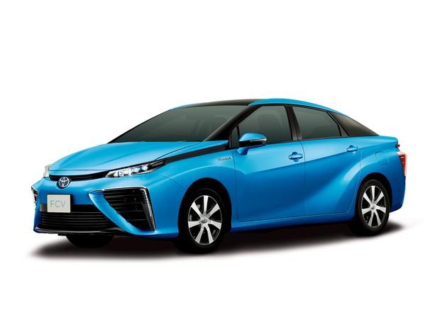 Toyota apresentou carro movido a hidrogênio (Foto: Divulgação/Toyota)