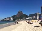 Rio tem sensação térmica de quase 40ºC nesta terça-feira
