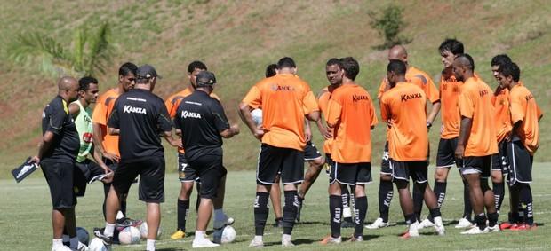 treino Criciúma (Foto: Fernando Ribeiro / Criciúma EC)