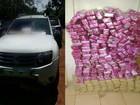 Traficantes abandonam carro com 840 kg de maconha em rodovia de MS