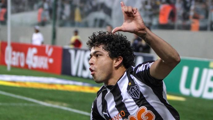 Luan gol Atlético-MG x Palmeiras (Foto: Bruno Cantini / Flickr do Atlético-MG)