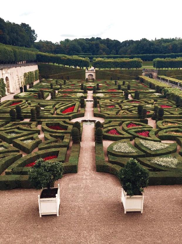 Château de Villandry – Vale do Loire, França (Foto: Reprodução / Facebook)