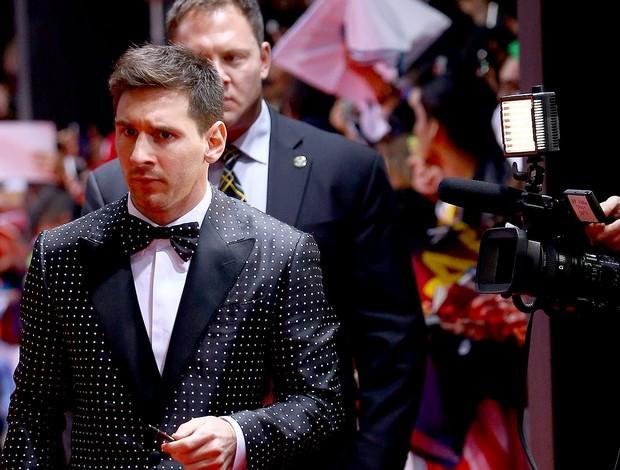 Messi prêmio Bola de Ouro (Foto: Getty Images)