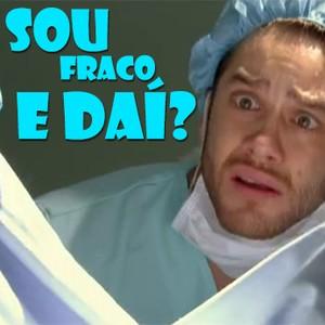 E o que foi o Leandro desmaiando?!?! (Malhação / TV Globo)