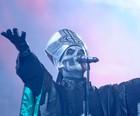 'Missa macabra' do Ghost é mal recebida (Flavio Moraes/G1)