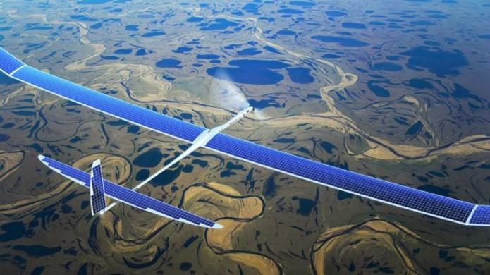 Drone da Titan será usado para transmitir Internet 5G do Google (Foto: Reprodução/Titan Aerospace)