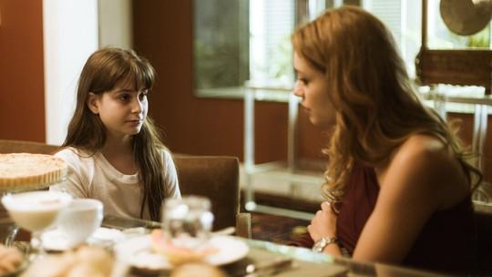 Gabriela revela a Alice que atitude de Vitor a deixou com medo