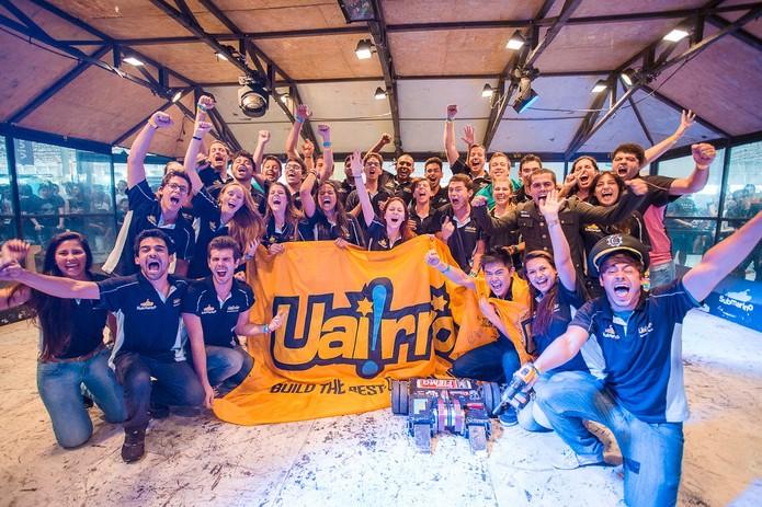 Uai!rrior vence a URC e leva o prêmio pra casa (Foto: Divulgação/Submarino) (Foto: Uai!rrior vence a URC e leva o prêmio pra casa (Foto: Divulgação/Submarino))
