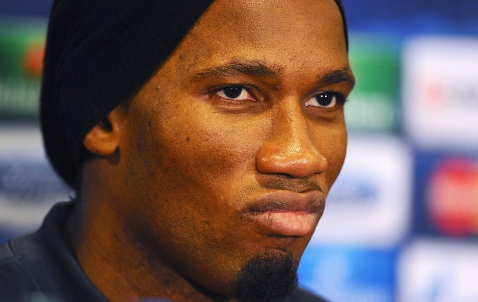 Coletiva Galatasary Drogba (Foto: Getty Images)