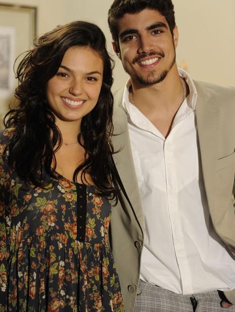 Isis Valverde e Caio Castro formaram um casal em Ti-ti-ti (Foto: Renato Rocha Miranda/ TV Globo)