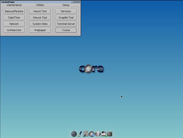 Iso do TinyCore tem só 15 MB e o sistema pode rodar até em um 486 (Foto: Reprodução/Filipe Garrett)