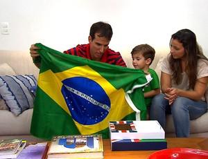 Marcelinho Machado Flamengo Basquete Tá em Casa Tá na Área 2 (Foto: Reprodução SporTV)