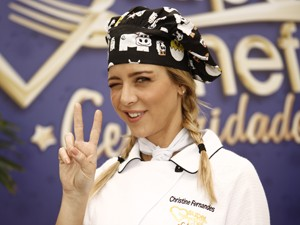 Christine Fernandes (Foto: TV Globo / Mais Você)