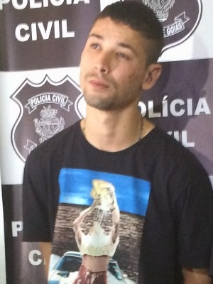 Alexandre Gonçalves de Deus, conhecido como Nice, em Goiás (Foto: Paula Resende/ G1)