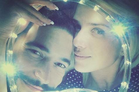 Natallia Rodrigues e o namorado, Pedro Moutinho (Foto: Reprodução)