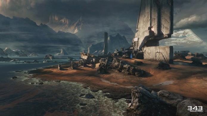 Relic era um dos mapas de Halo 2 (Foto: Divulgação)