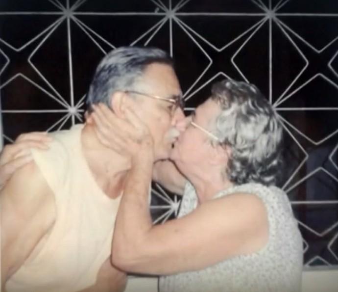 Avós de Bruna Marquezine, já falecidos (Foto: Arquivo Pessoal)