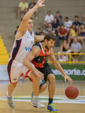 basquete Franca x Flamengo (Foto: Newton Nogueira / Divulgação)