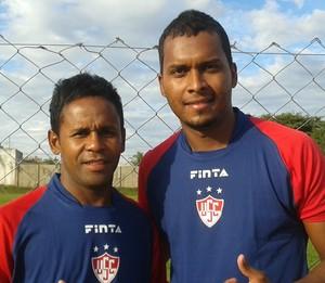 Luizinho, Jonathan Reis, Uberaba Sport, Ct Colorado (Foto: Alex Rocha)